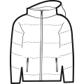 Puffer Jacket icon