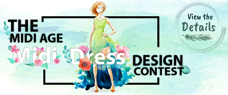 CowCow Midi Dress Design Contest 2016