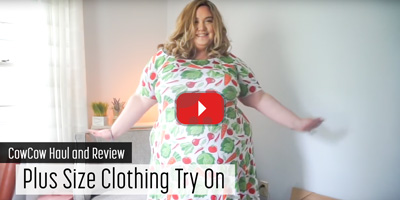 Plus Size Clothing Try On