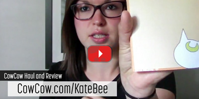 CowCow Haul and Review - KateBee