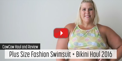 Plus Size Fashion Swimsuit + Bikini Haul 2016: Part 2