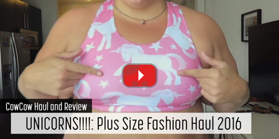 UNICORNS!!!!: Plus Size Fashion Haul 2016