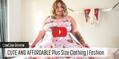 CowCow Review - CUTE AND AFFORDABLE Plus Size Clothing | Fashion
