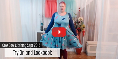 My September 2016 Cow Cow clothing try on and look book