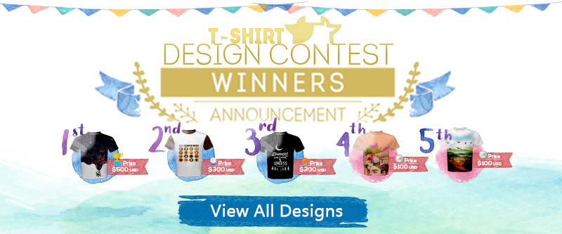 CowCow T-Shirt Design Contest - Winners Announcement