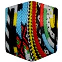 Multi-Colored Beaded Background Apple iPad 3/4 Flip Case View4