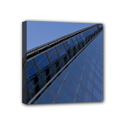 The Shard London 4  X 4  Framed Canvas Print
