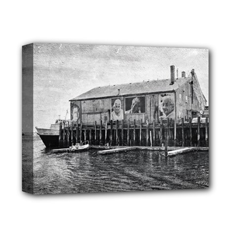 Cape Cod Deluxe Canvas 14  X 11  (stretched)