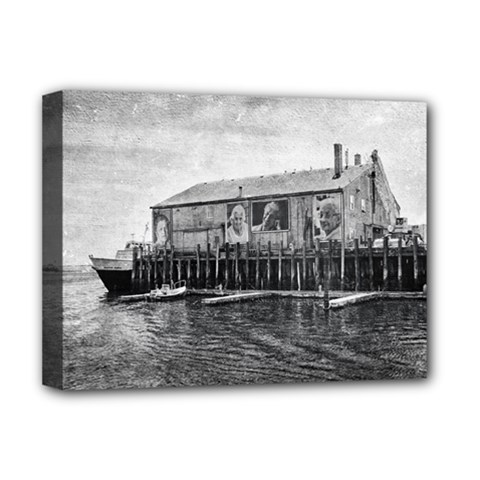 Cape Cod Deluxe Canvas 16  x 12  (Stretched)