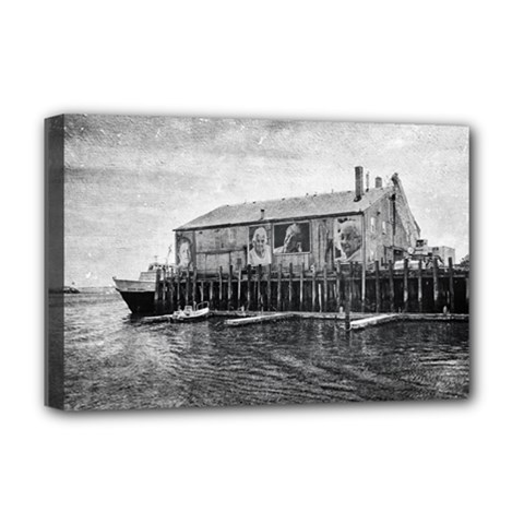 Cape Cod Deluxe Canvas 18  X 12  (stretched)