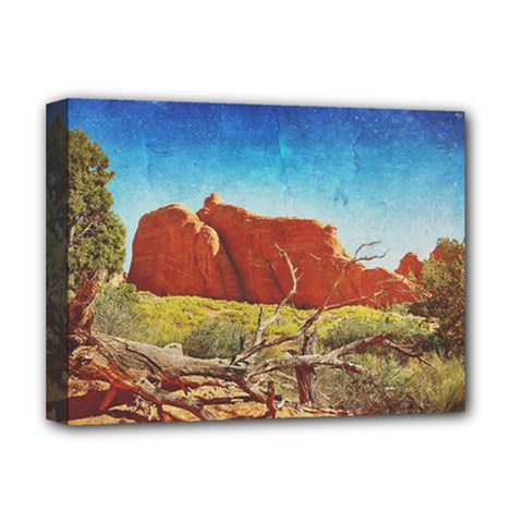 Moab, Utah Deluxe Canvas 16  X 12  (stretched)