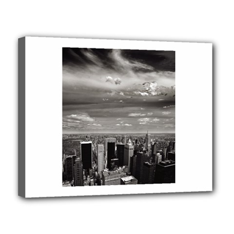 New York 11  x 14  Framed Canvas Print