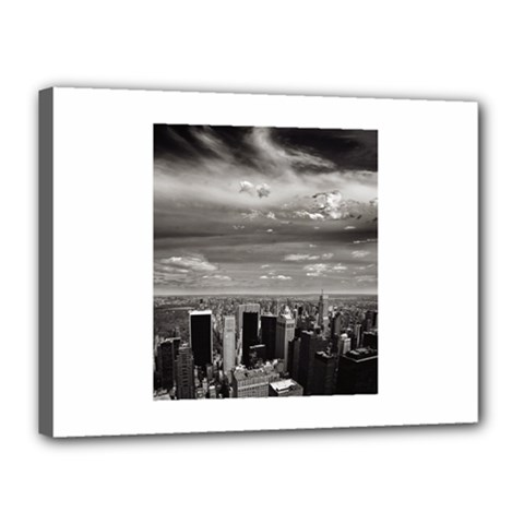 New York 12  X 16  Framed Canvas Print
