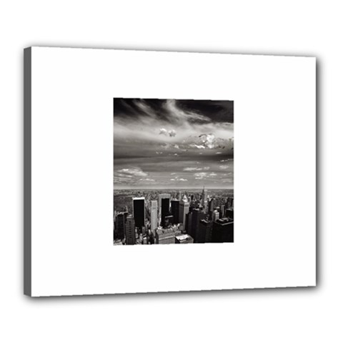 New York 16  x 20  Framed Canvas Print