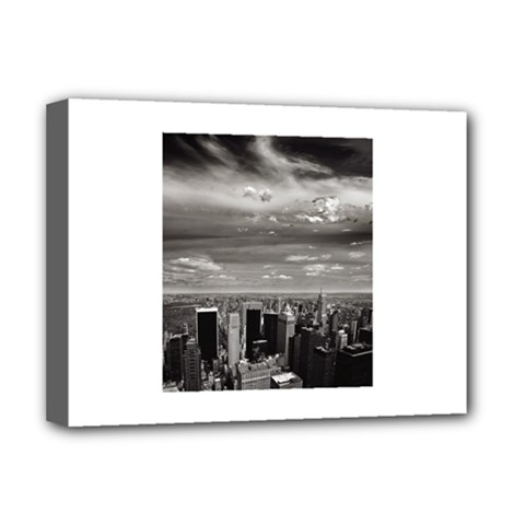 New York Deluxe Canvas 16  x 12  (Stretched)