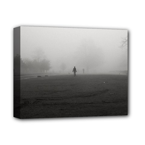 Foggy Morning, Oxford Deluxe Canvas 14  X 11  (stretched)
