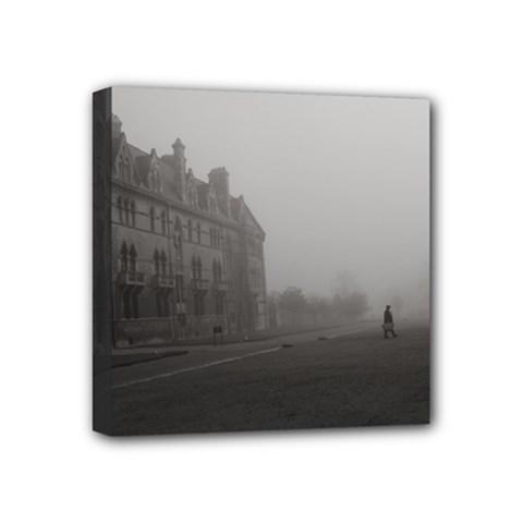 Christ Church College, Oxford 4  X 4  Framed Canvas Print