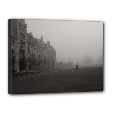 Christ Church College, Oxford 12  X 16  Framed Canvas Print