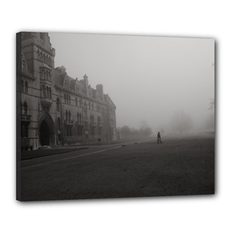 Christ Church College, Oxford 16  x 20  Framed Canvas Print