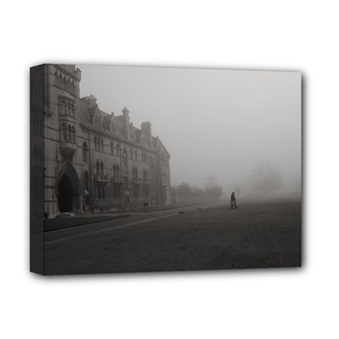 Christ Church College, Oxford Deluxe Canvas 16  x 12  (Stretched)