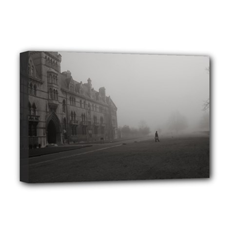 Christ Church College, Oxford Deluxe Canvas 18  X 12  (stretched)
