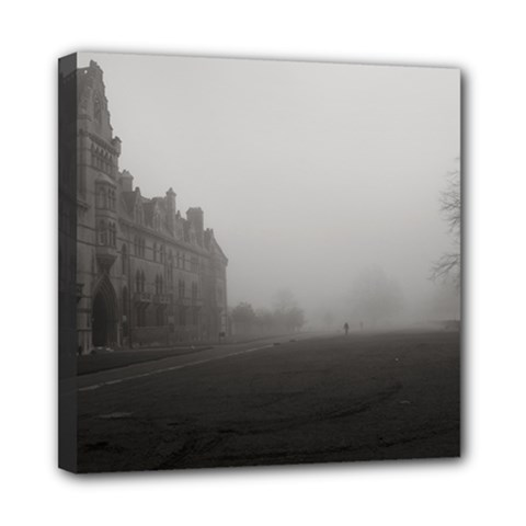 Christ Church College, Oxford 8  x 8  Framed Canvas Print