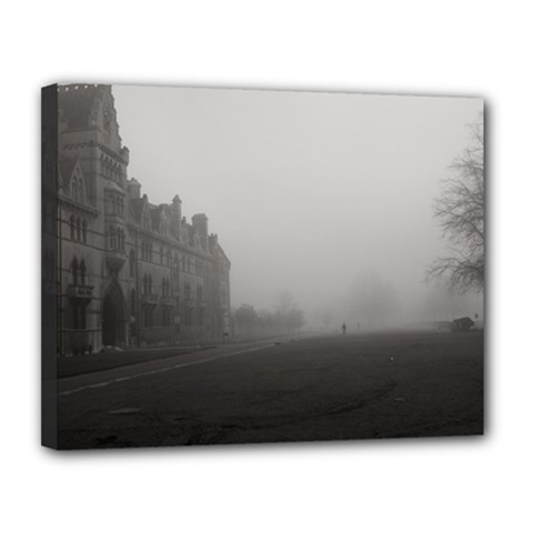 Christ Church College, Oxford 11  X 14  Framed Canvas Print
