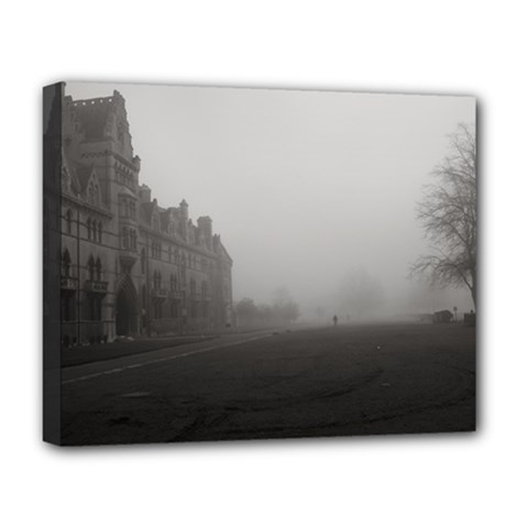 Christ Church College, Oxford Deluxe Canvas 20  x 16  (Stretched)