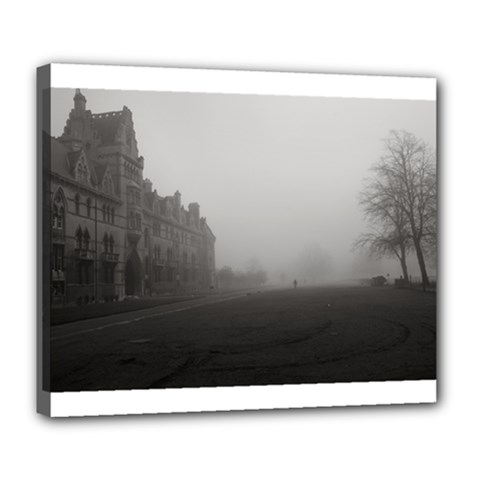 Christ Church College, Oxford Deluxe Canvas 24  X 20  (stretched)