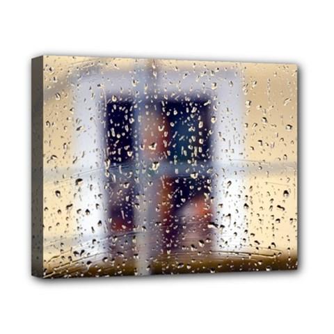Rainy Day 8  X 10  Framed Canvas Print