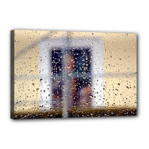 rainy day 12  x 18  Framed Canvas Print