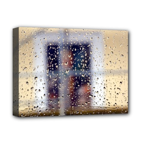 rainy day Deluxe Canvas 16  x 12  (Stretched)