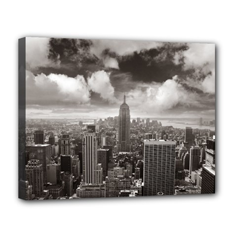 New York, USA 11  x 14  Framed Canvas Print
