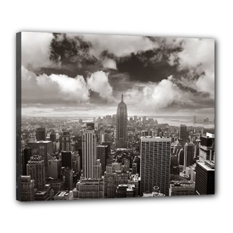 New York, USA 16  x 20  Framed Canvas Print