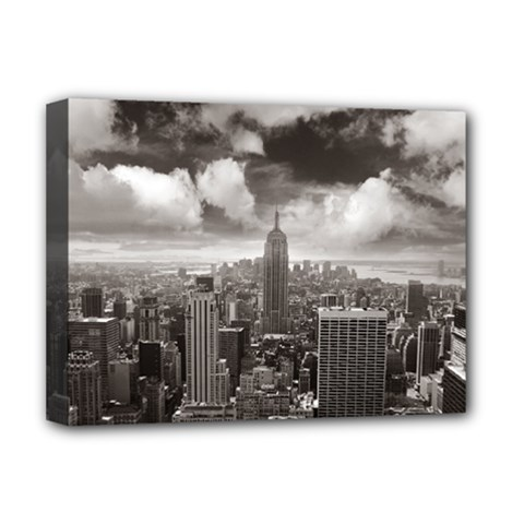 New York, Usa Deluxe Canvas 16  X 12  (stretched)