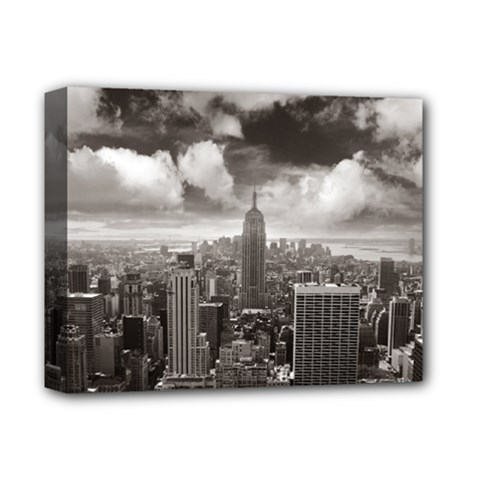 New York, Usa Deluxe Canvas 14  X 11  (stretched)