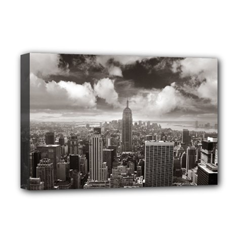 New York, USA Deluxe Canvas 18  x 12  (Stretched)