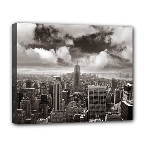 New York, USA Deluxe Canvas 20  x 16  (Stretched)