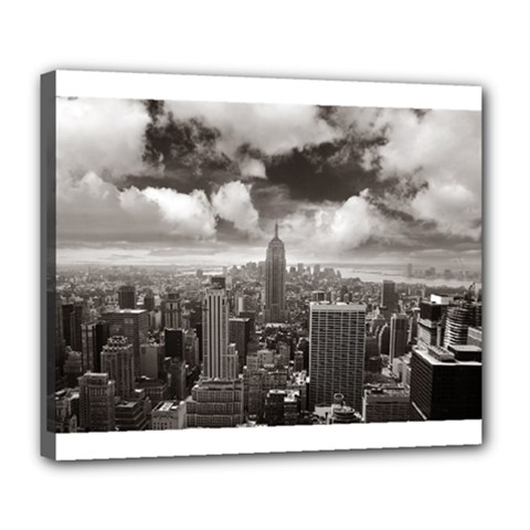 New York, Usa Deluxe Canvas 24  X 20  (stretched)
