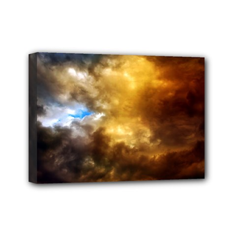Cloudscape 5  X 7  Framed Canvas Print