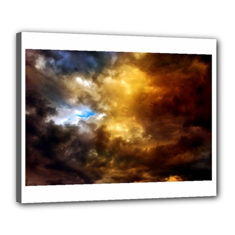 Cloudscape 16  x 20  Framed Canvas Print