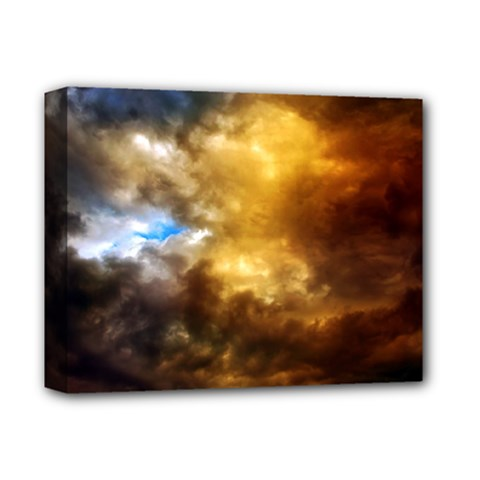 Cloudscape Deluxe Canvas 14  x 11  (Stretched)