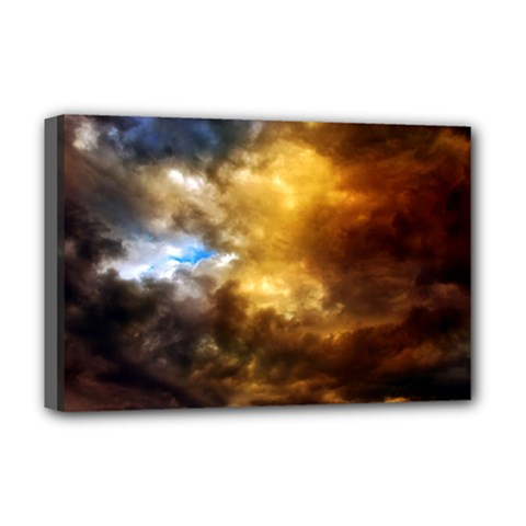 Cloudscape Deluxe Canvas 18  x 12  (Stretched)