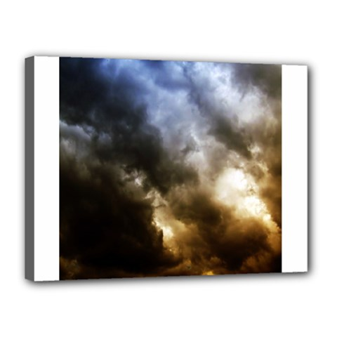 Cloudscape 12  x 16  Framed Canvas Print