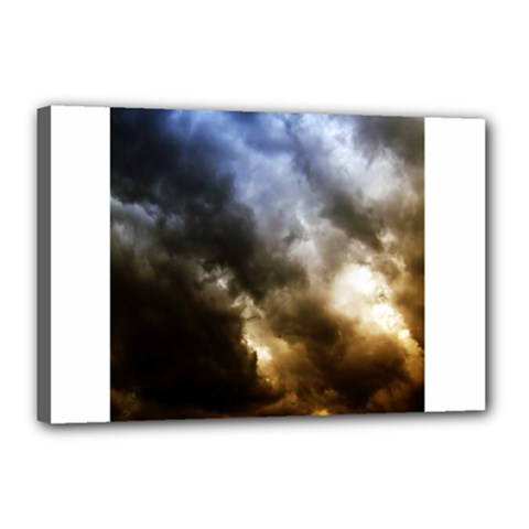 Cloudscape 12  X 18  Framed Canvas Print