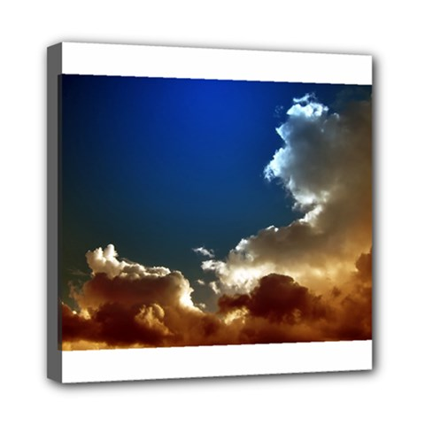 Cloudscape 8  x 8  Framed Canvas Print