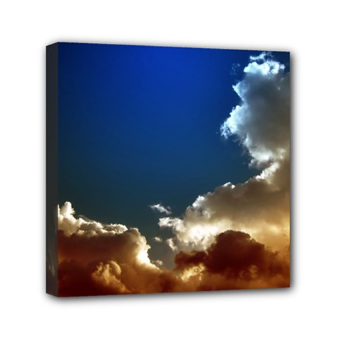 Cloudscape 6  x 6  Framed Canvas Print