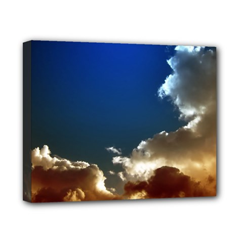 Cloudscape 8  x 10  Framed Canvas Print