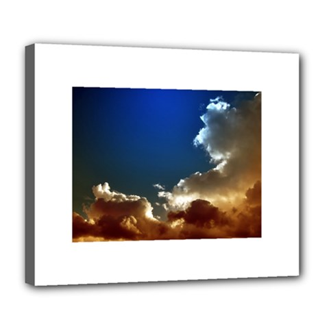 Cloudscape Deluxe Canvas 24  X 20  (stretched)