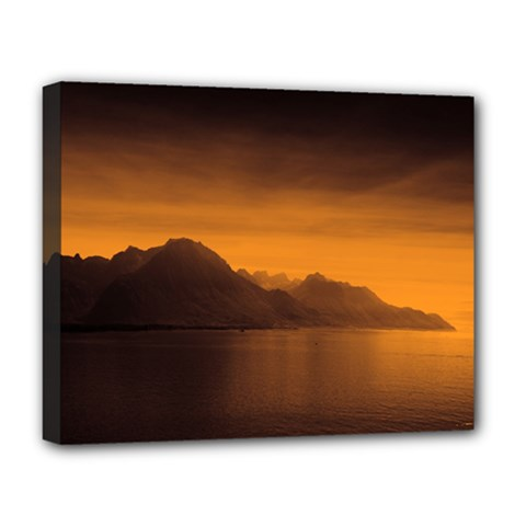 Waterscape, Switzerland Deluxe Canvas 20  X 16  (stretched)
